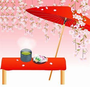 枝垂桜とおだんご
